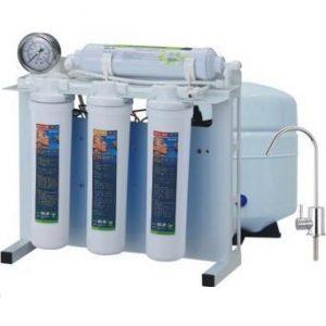 دستگاه تصفیه آب خانگی پایه دار گیج دار زیر سینکی easywell (ایزی ول) مدل ROQ 3815