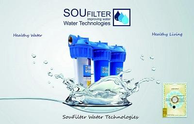 دستگاه تصفیه آب خانگی ایرانی سه مرحله ای زیر سینکی SOU FILTER سو فیلتر